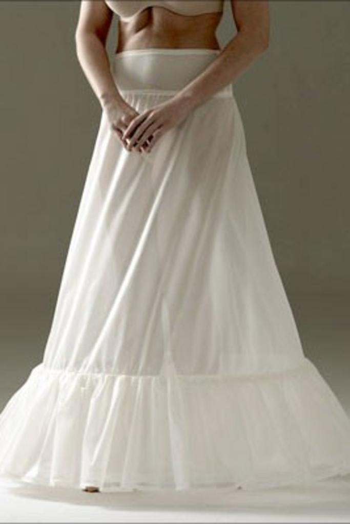 Jupon 116 - Single Layer, 2 Hooped Petticoat