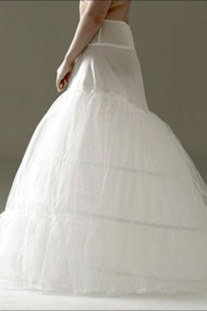 Jupon 111N - Two Layer, Three Hooped Petticoat