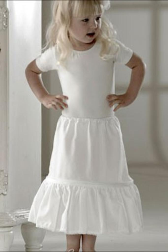 Jupon 103 - Childs Single Layer Hooped Petticoat